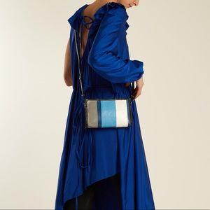 Balenciaga Bazar Strap Clutch Crossbody Bag